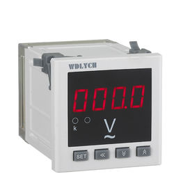 China Programmable Panel Digital Meter , WD Seriers Digital AC Voltmeter High Accuracy supplier