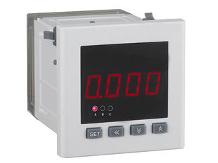 China Vertical Installation DC Digital Voltmeter Panel Meter Low Power Consumption supplier