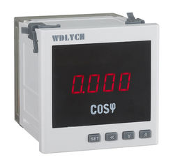 Oem Odm Digital Power Factor Meter , 120*120mm Power Consumption Meter For Distribution Automation
