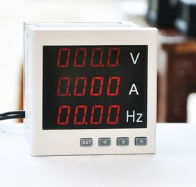 Ac220v Multifunction Energy Meter , 120*120mm Multifunction Power Meter Adjustable Transformation Ratio
