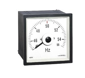 Wide Angle Analog Frequency Meter Marine Type Anti - Mechanical Force