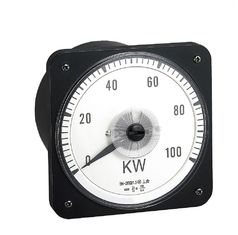 China Moving Coil Analog Electric Meter , 110*110mm Analogue Panel Ammeter Three Phase supplier
