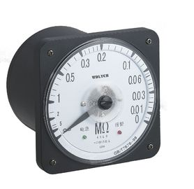 AC Insulation Monitor 240-270 Degree Indicating Angle Marine Type With Transparent Glass