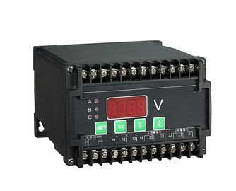 Din Rail Voltage Motor Protection Relay , Plug In Overload Protection Relay Parameters Visible