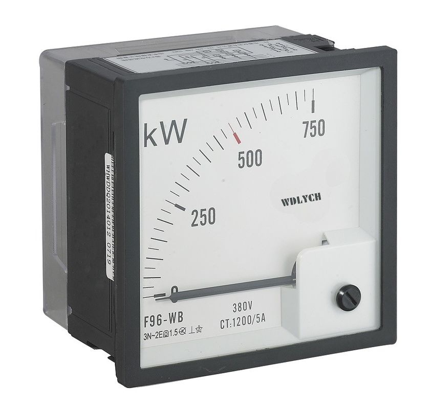 Smart Analog Power Meter Home Electric , Residential Analog Volt Amp