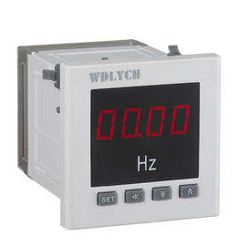 China 120mm 4 Digits Digital Frequency Panel Meter Ac Voltage Input With Relay Alarm Output distributor