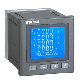 China 120*120mm Wdy-2e Digital MultiFunction Meter Lcd Display With Rs485 Communication distributor