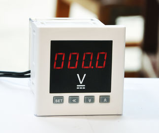 China 96*96mm Intelligent Digital Panel Voltmeter Single Phase With Transducing Output distributor