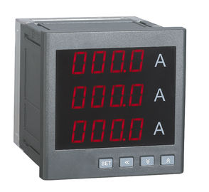 China Led Display Easy Operation Digital Panel Ammeter High Accuracy Class distributor