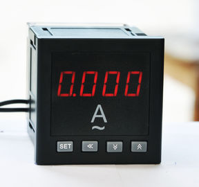 China DC 220v Marine Digital Panel Ammeter 4-20ma Output Low Power Consumption distributor