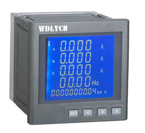 China Harmonic Digital Multifunction Meter 3p4w Internet 40-60hz Frequency distributor