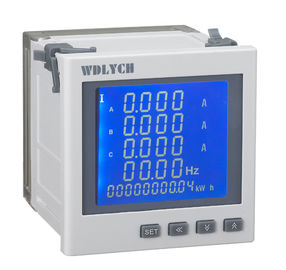 China Microprocessor Multifunction Energy Meter 2 Ways Energy Pulse Output distributor