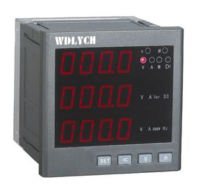 China Ac 220v Digital Multifunction Meter 0.5% Accuracy Class Low Power Consumption distributor