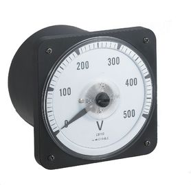 China Wdg110-Dcv Round Analog Panel Voltmeter 80*80mm With Moving Coil Structure distributor