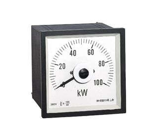 China Squre 3p3w Hertz Analog Power Meter Abs Plastic Shell Housing Ce Certificate distributor