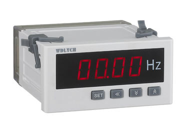 China 50 Hz Digital Frequency Panel Meter , Digital Frequency Counter Enhanced Pc Shell distributor